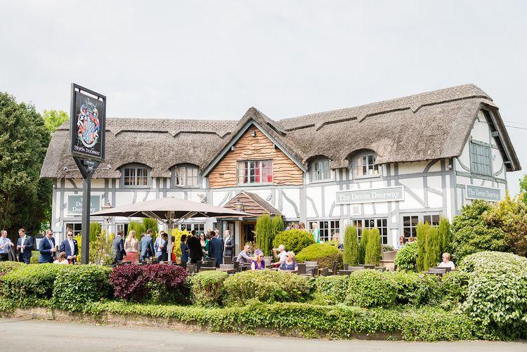 The Devon Doorway Pub   Turner & Moss Photography