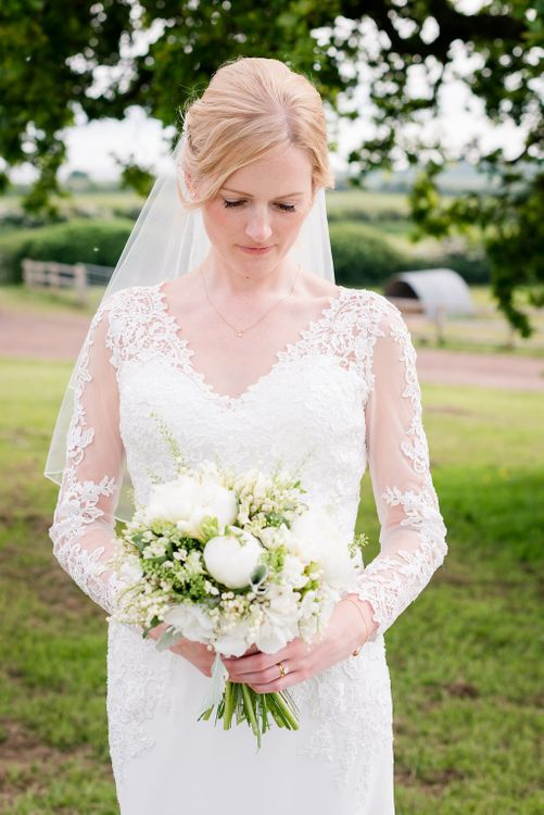 Mori Lee Lace Bridal Gown   Turner & Moss Photography