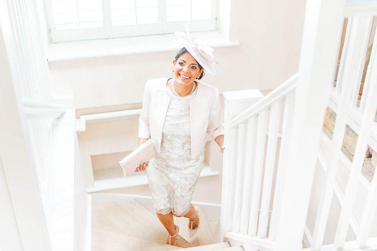 Wedding Morning Bridal Preparations | Elegant Pastel Wedding at Gaynes Park, Essex | White Stag Wedding Photography | At Motion Film
