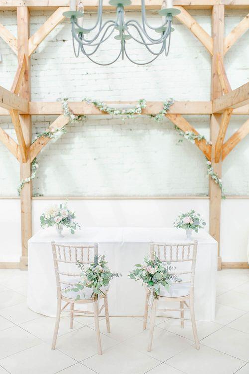 Aisle & Altar Wedding Decor | Elegant Pastel Wedding at Gaynes Park, Essex | White Stag Wedding Photography | At Motion Film