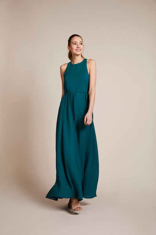 Forest Green Bridesmaids Dress From Rewritten
