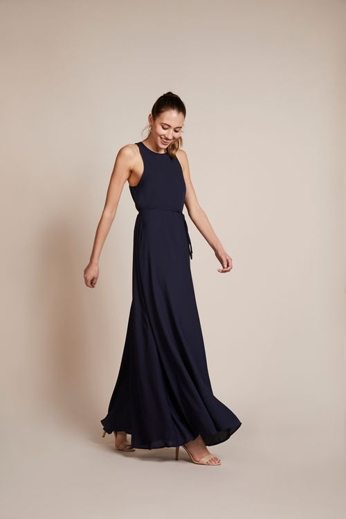 Ink Coloured Bridesmaids Dress From Rewritten