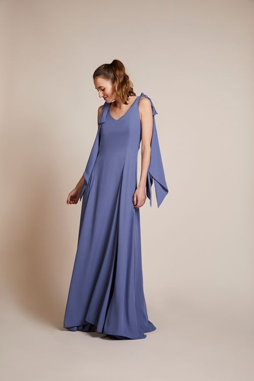 The Seville Dress From Rewritten In Bluebell