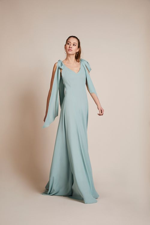 The Seville Dress From Rewritten In Marine