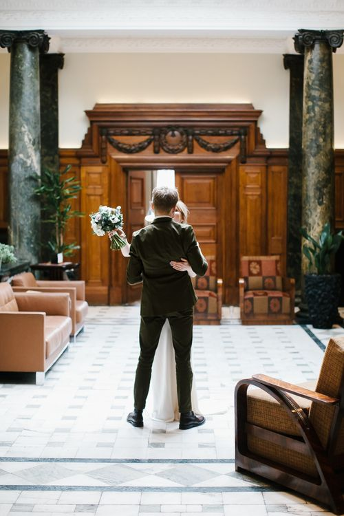 Elegant Wedding Decor For Art Deco Venue Town Hall Hotel