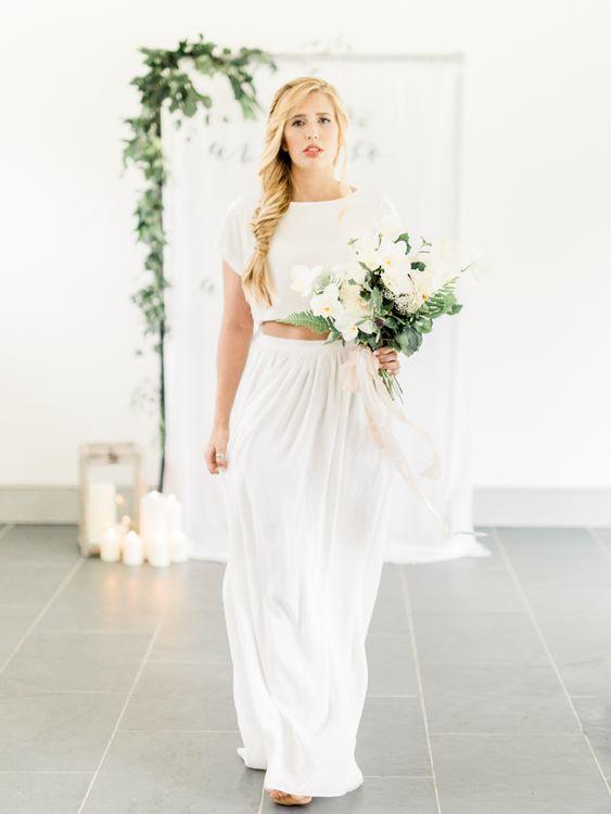 And so The Adventure Begins Altar   Bride in Ailsa Munro Separates   Rivercatcher Intimate Wedding Inspiration   Jade Leung Wedding Design   Heledd Roberts Photography