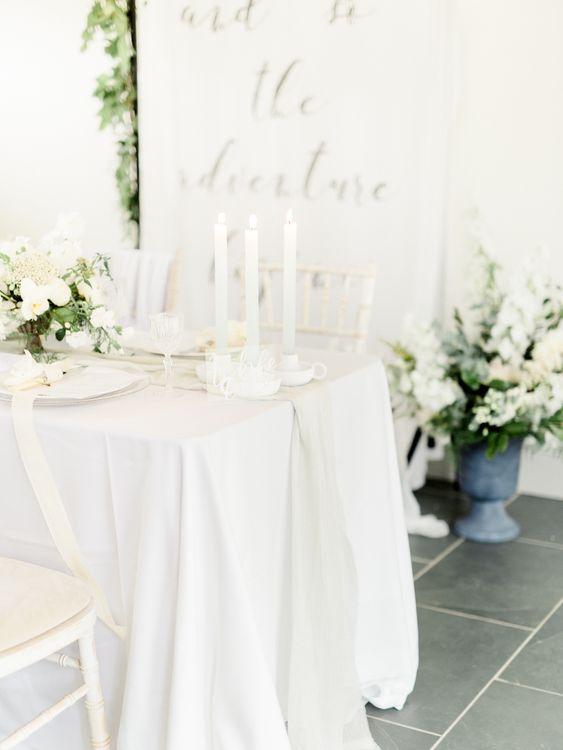 Elegant Tablescape   Rivercatcher Intimate Wedding Inspiration   Jade Leung Wedding Design   Heledd Roberts Photography