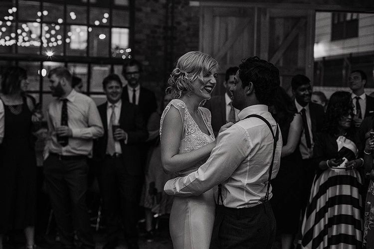 Bride & Groom First Dance at St Chads Place Evening Reception
