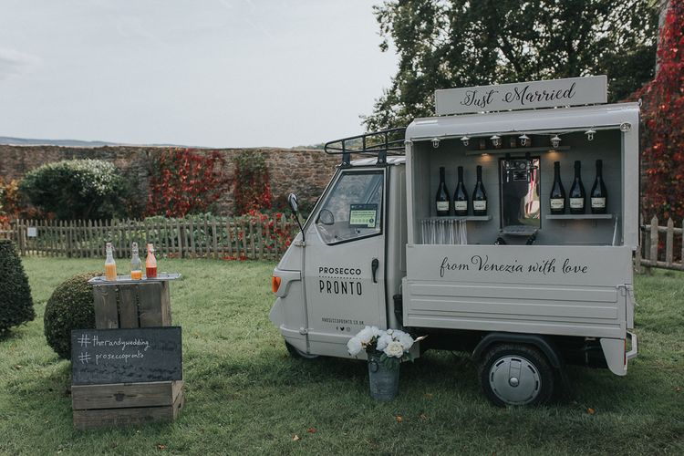 Prosecco Van For Wedding