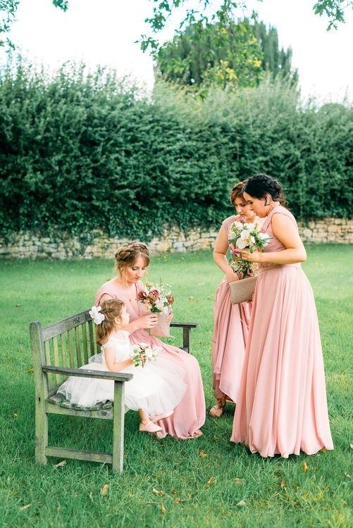 Bridesmaids in JJsHouse and Aya Jewellery