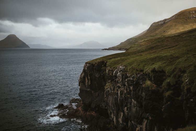 A Rainy Elopement on the Faroe Islands, North of Scotland   James Frost Photography