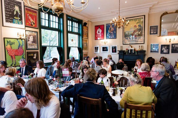 | 60s Inspired London Pub Wedding | The Peasant | Babb Photo