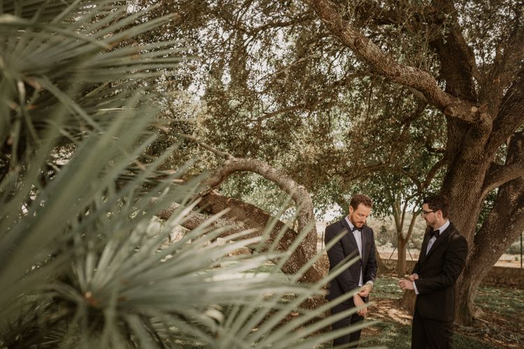 Multicultural Wedding at Els Calderers in Mallorca, Spain | Planned by Mille Papillons | Lihi Hod Bridall Gown from Browns Bride Boutique | Pablo Laguia Photography | HUMá06 Film