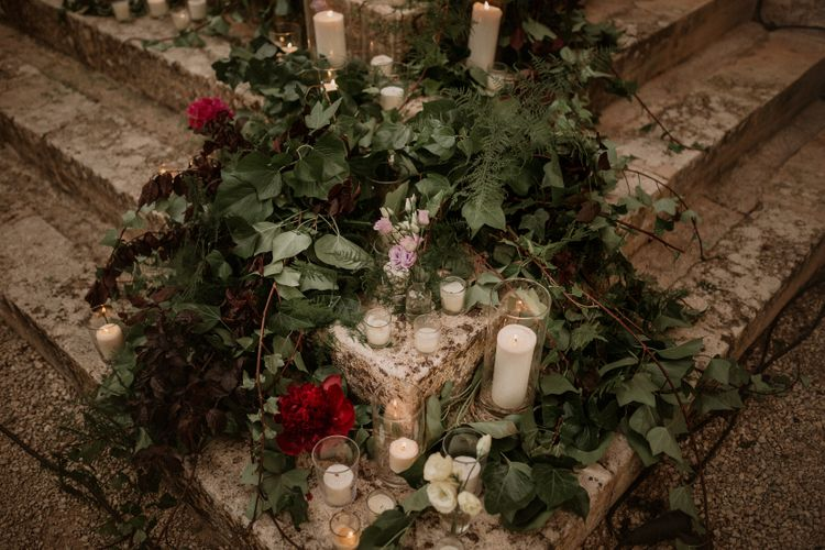 Wedding Flowers | Multicultural Wedding at Els Calderers in Mallorca, Spain | Pablo Laguia Photography | HUMá06 Film