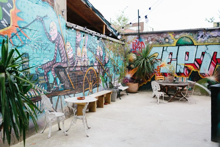 Graffiti Art Veranda