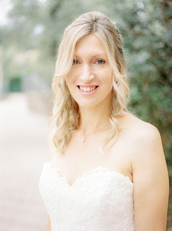 Bridal Beauty | Elegant Family Destination Wedding at Malcesine in Italy, Planned by Lake Garda Weddings | Georgina Harrison Photography
