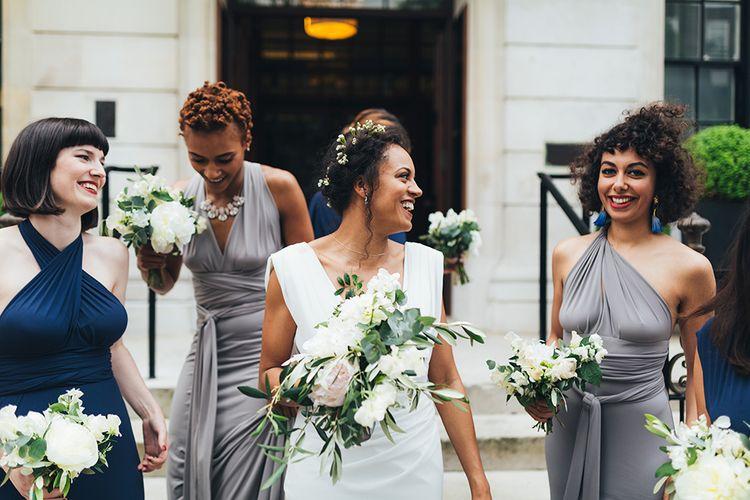 Bride in Cymbeline Paris Bridal Gown