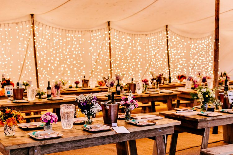 Rustic Stretch Tent Reception Woodland Wedding   Epic Love Story Photography