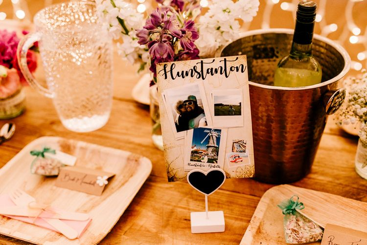 Eco Friendly Plates & Cutlery   Brightly Coloured Woodland Wedding   Epic Love Story Photography