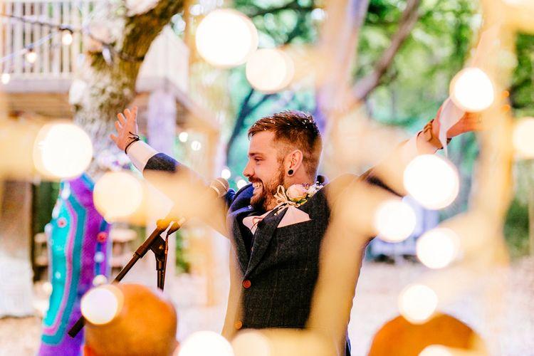 Brightly Coloured Woodland Wedding   Epic Love Story Photography