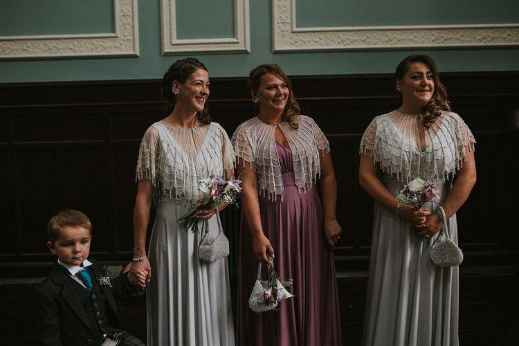 Bridesmaids in Biba at House of Fraser Wedding Dresses