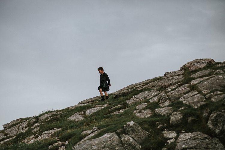Page Boy in Kilt