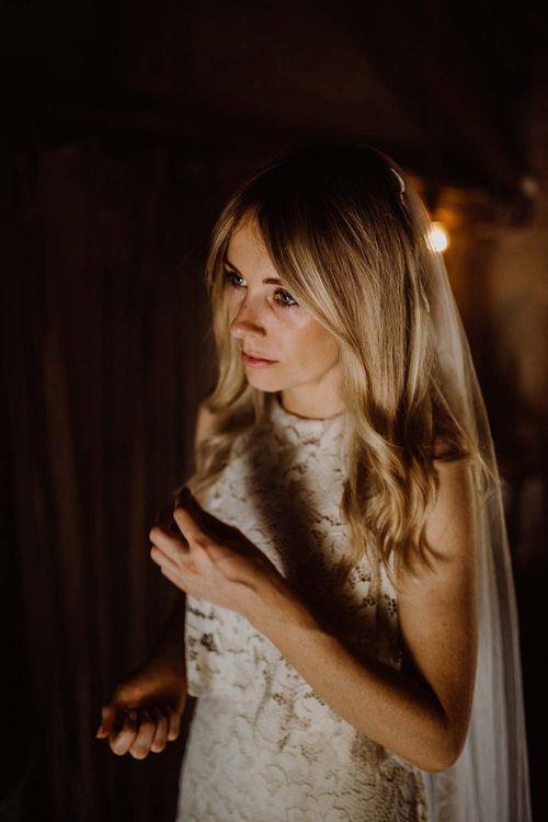 Beautiful Bride In Mango Highstreet Wedding Dress