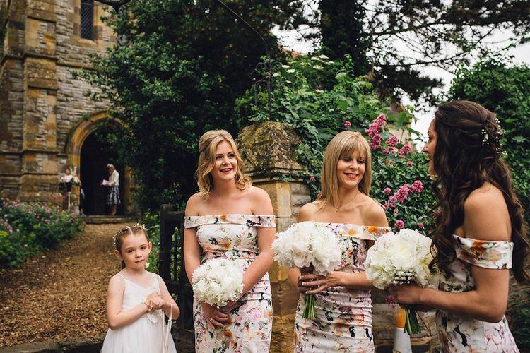 Floral ASOS Bridesmaid Dresses
