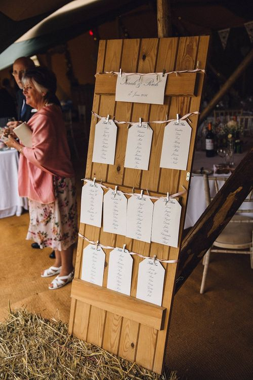 Wooden Door Table Plan