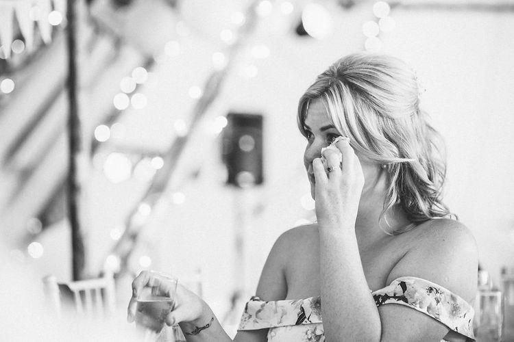 Emotional Bridesmaid