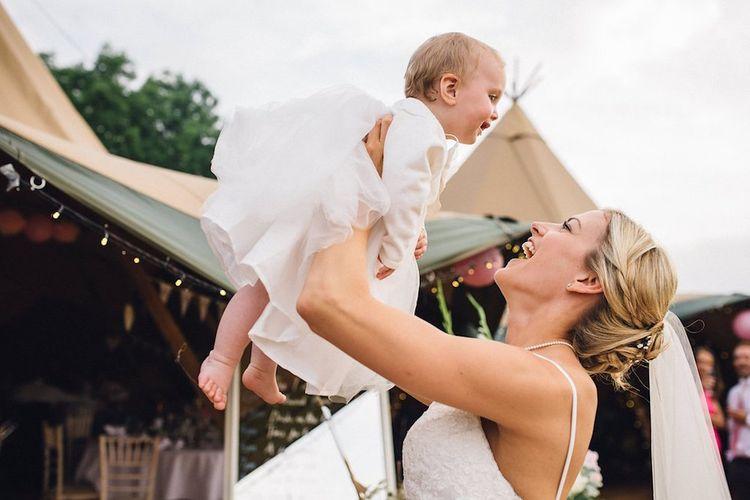 Bride & Baby