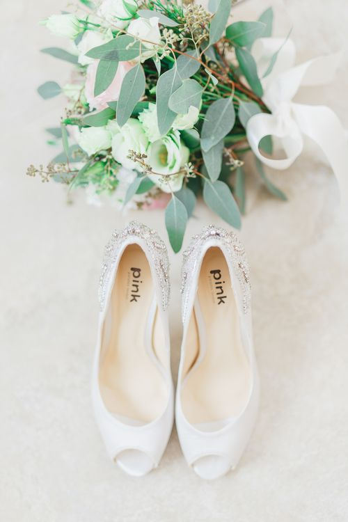 Pink Paradox Wedding Shoes from Elegant Steps