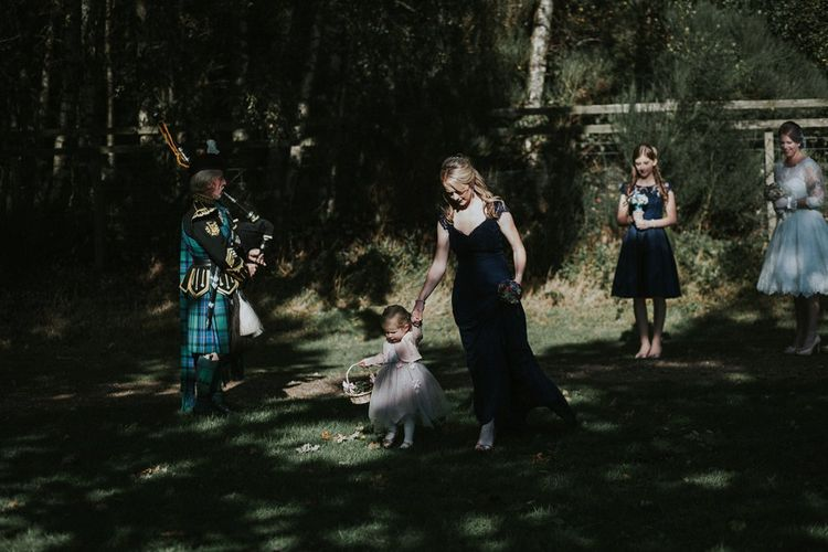 Waterfront Wedding At Loch Lomond Scotland With Outdoor Ceremony
