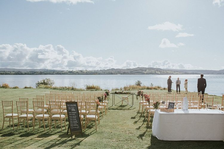 Waterfront Wedding At Loch Lomond Scotland