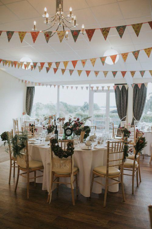 Bunting For Wedding Reception