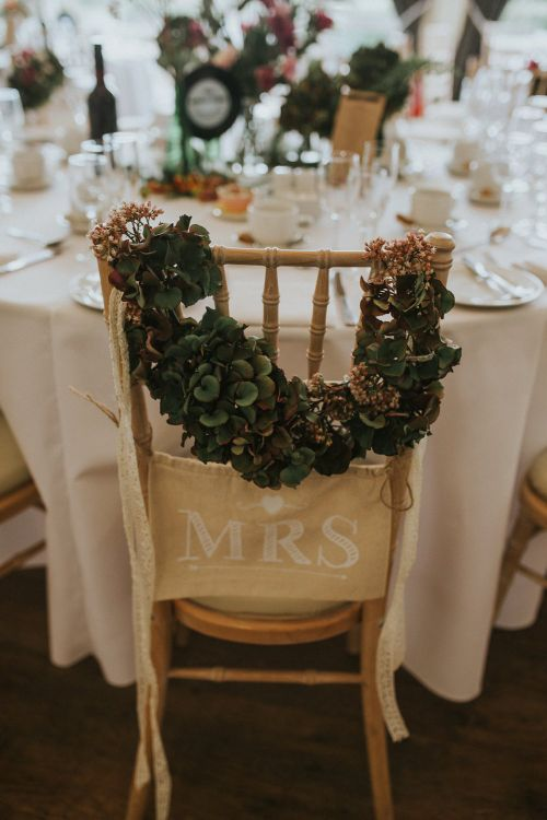 Chair Back For Wedding