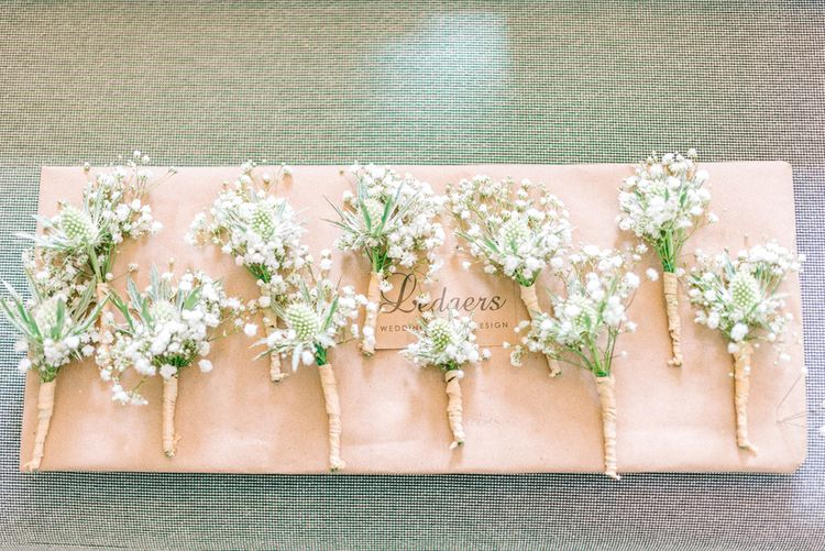 Gyp Buttonholes For Wedding