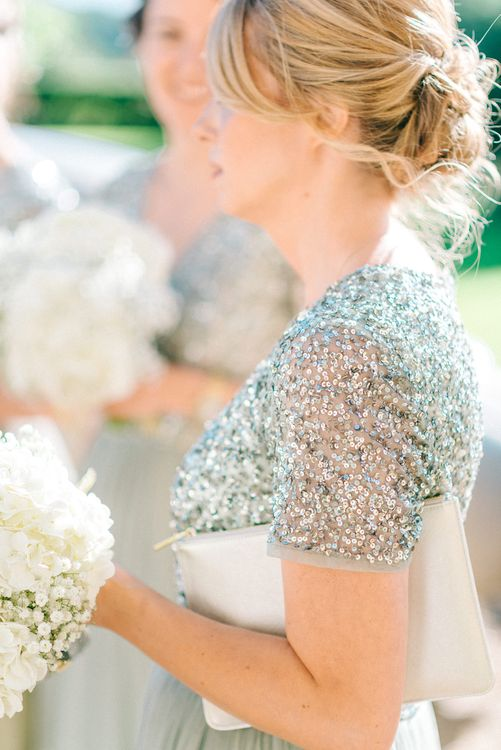 Green Sequinned Bridesmaids Dresses ASOS