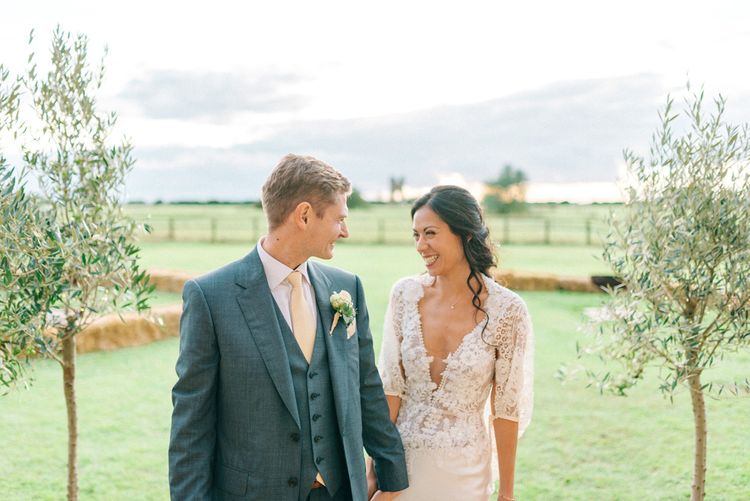 Godwick Hall Wedding With Bride In Anna Georgina