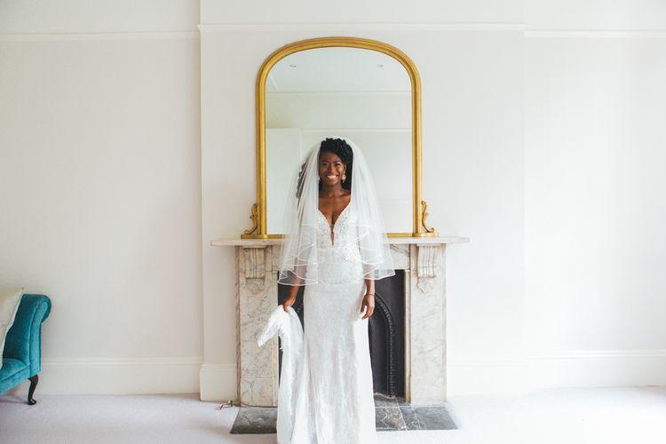 Gorgeous Bride In Finger Tip Veil