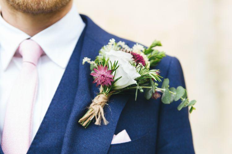 Oversized Floral Buttonhole