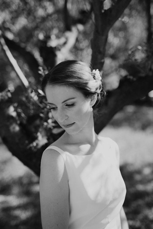 Bride in Yvonne Läufer Bridal Gown | Outdoor Countryside Wedding in Greece Planned by Phaedra Liakou | Days Made of Love Photography