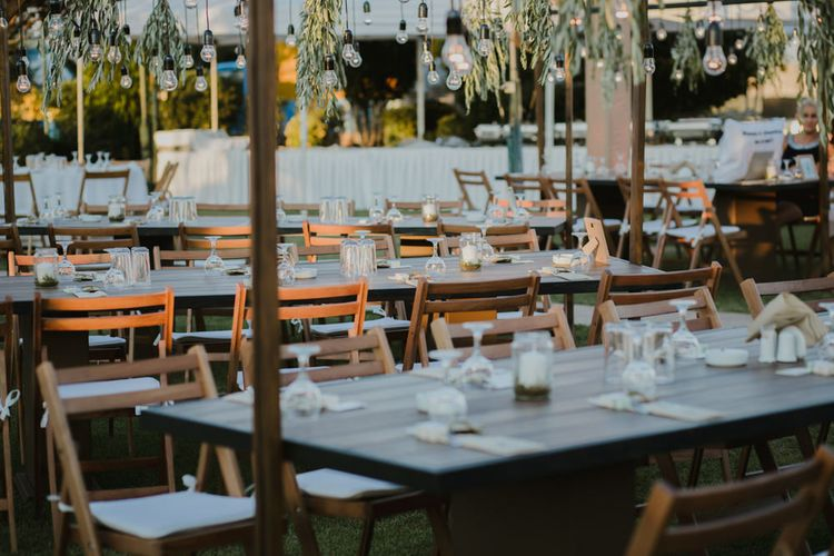 Reception Decor | Outdoor Countryside Wedding in Greece Planned by Phaedra Liakou | Days Made of Love Photography
