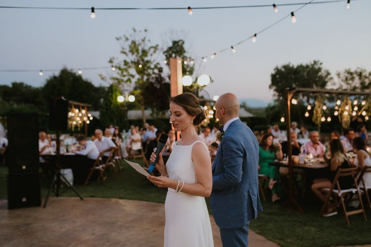Outdoor Wedding Speeches | v