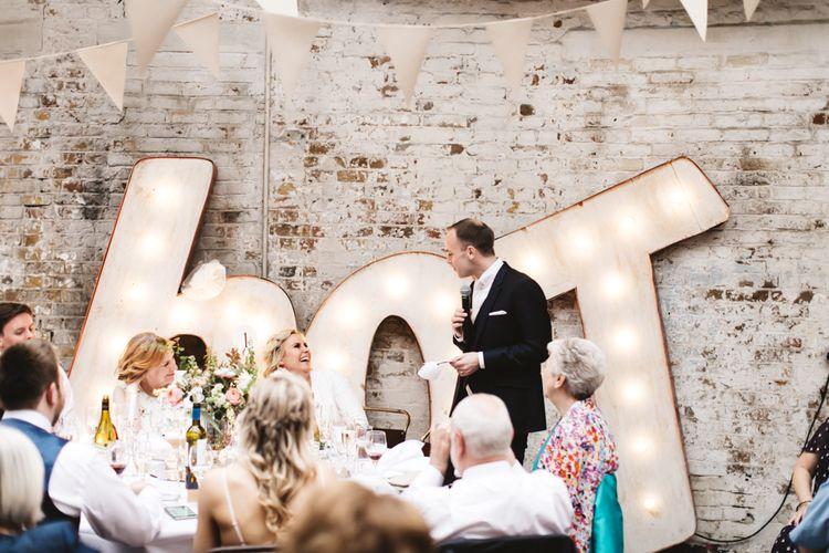 Wedding Speeches Industrial Wedding Venue London MC Motors