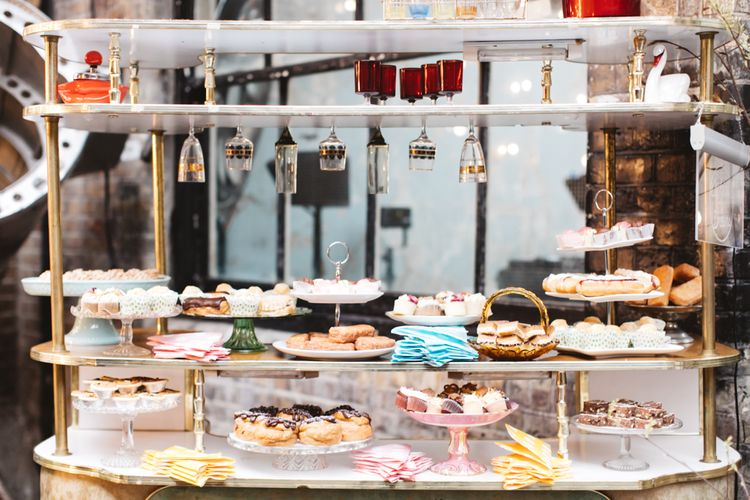 Sweetie Bar For Wedding Guests