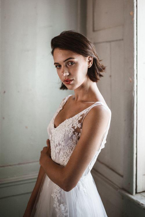 Dress by Katya Katya Shehurina // Styling by Beatnik Bride // Images by Benjamin Wheeler International Wedding Photographer