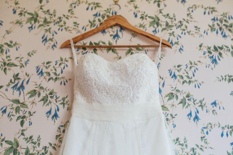 Lace David's Bridal Wedding Dress