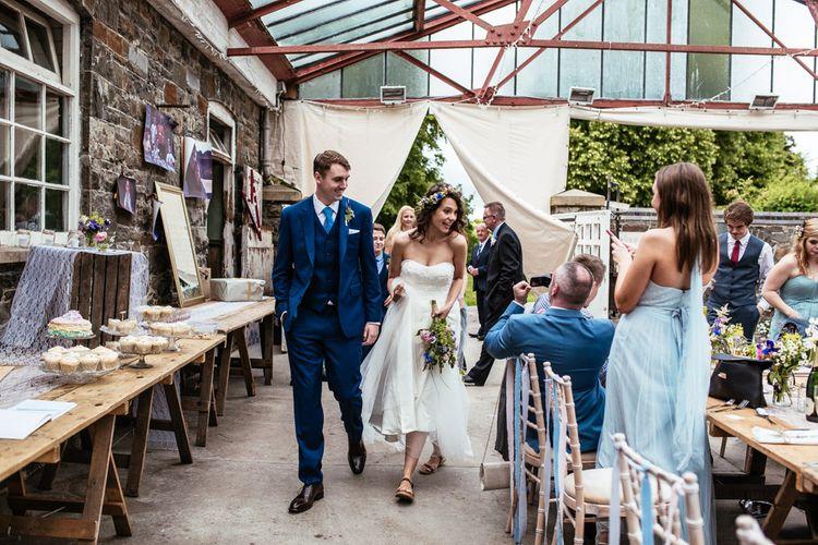 Bride & Groom Reception Arrival