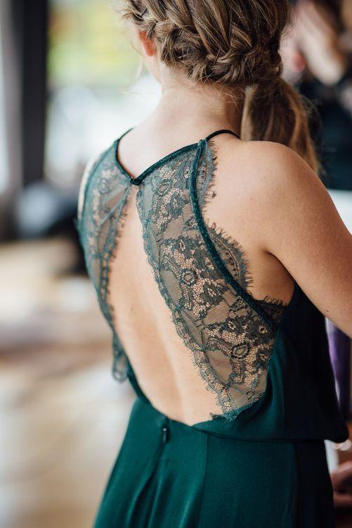 Bridesmaid in Green
